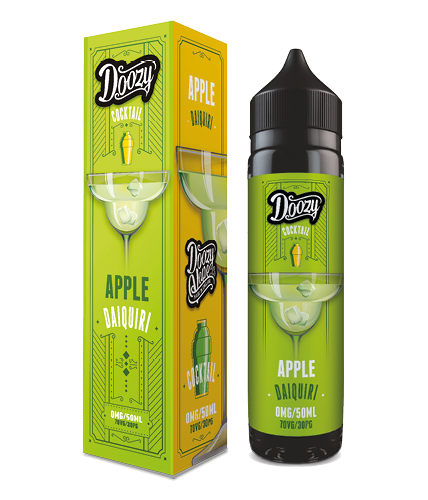 Doozy Vape Apple Daiquiri Cocktail Flavour E-Liquid Shortfill Range