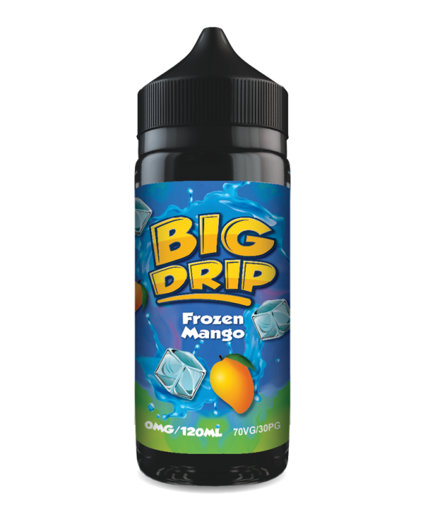 Doozy Vape Co Frozen Mango Big Drip 120ml Shortfill Mango Flavour E-Liquid