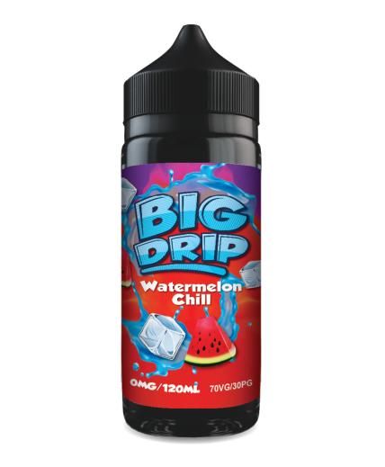 Doozy Vape Co Watermelon Chill Big Drip 120ml Shortfill Watermelon E-Liquid Flavour